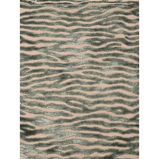 Dante Velvet Teal by Mulberry Home- 1 2/3 Yards For Sale