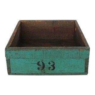 1930's Vintage American Industrial Wood Bin For Sale
