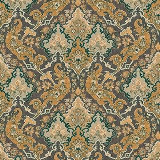 Cole & Son Pushkin Classic Damask Wallpaper Sample For Sale