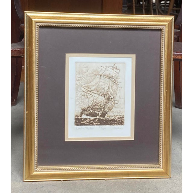 Charles Martin Hardie (1858-1916) signed limited edition etching. 28 or 250 printed. Early 20th century antique etching in...