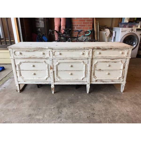 Shabby Chic White Dresser - Image 2 of 4
