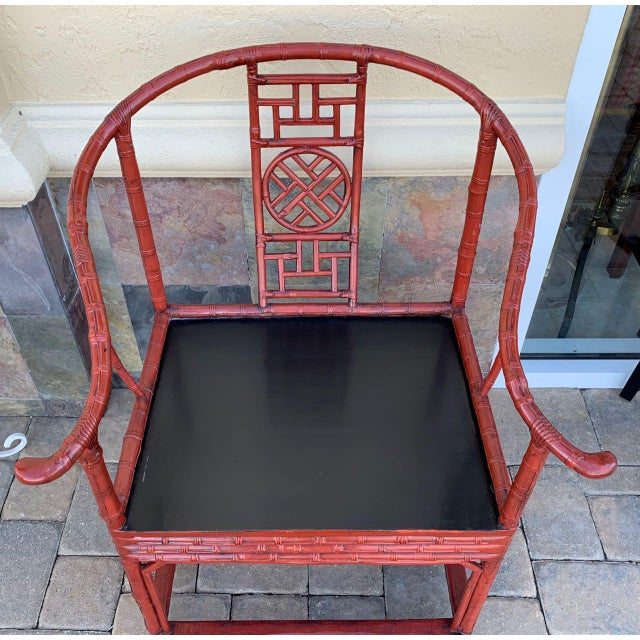 Asian Late 19th Century Ming Style Quanyi Chairs -2- For Sale - Image 3 of 13