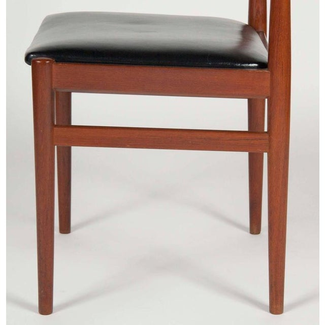 Model W26 Teak Chairs by Erik Worts - Set of 4 For Sale In New York - Image 6 of 12