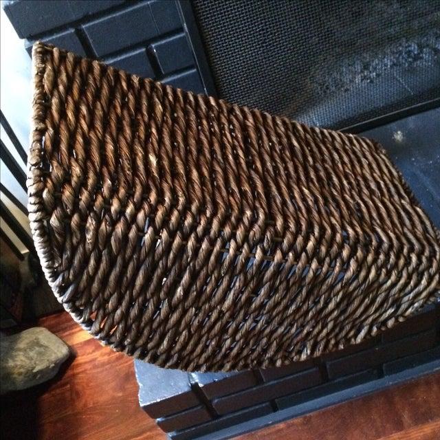 Wicker Log Basket - Image 6 of 6