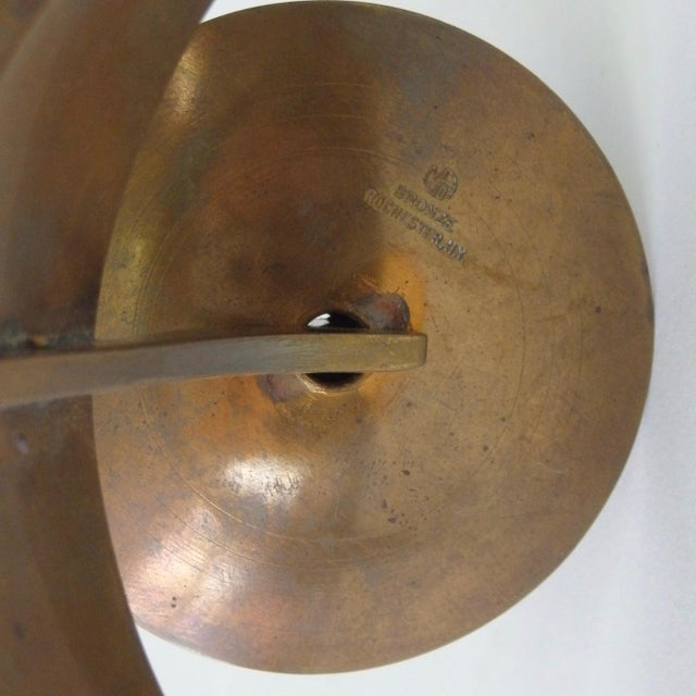 John Prip Pair of John Prip and Ronald Hayes Pearson Ma.Co. Bronze n.y. For Sale - Image 4 of 7