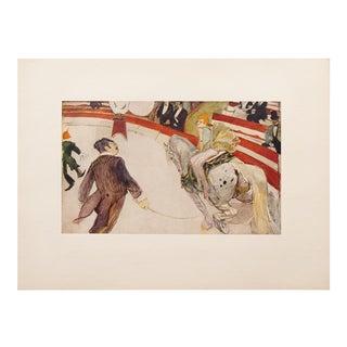 "1950s Toulouse-Lautrec ""Cirque Fernando, The Equestrienne"" Lithograph For Sale"