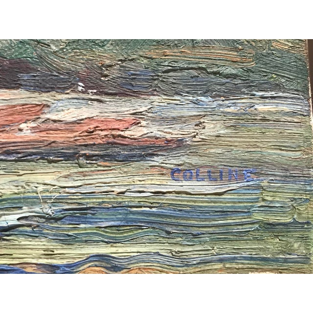 Impressionism Impasto Landscape Painting For Sale - Image 3 of 4