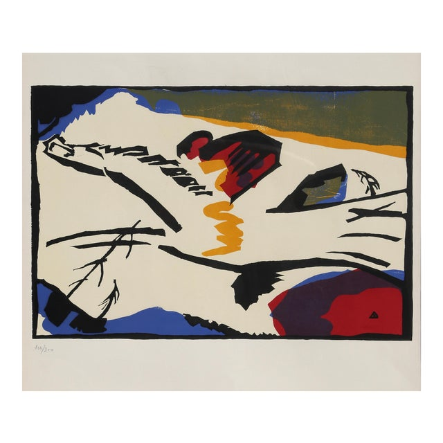 Lyrisches by Wassily Kandinksy For Sale