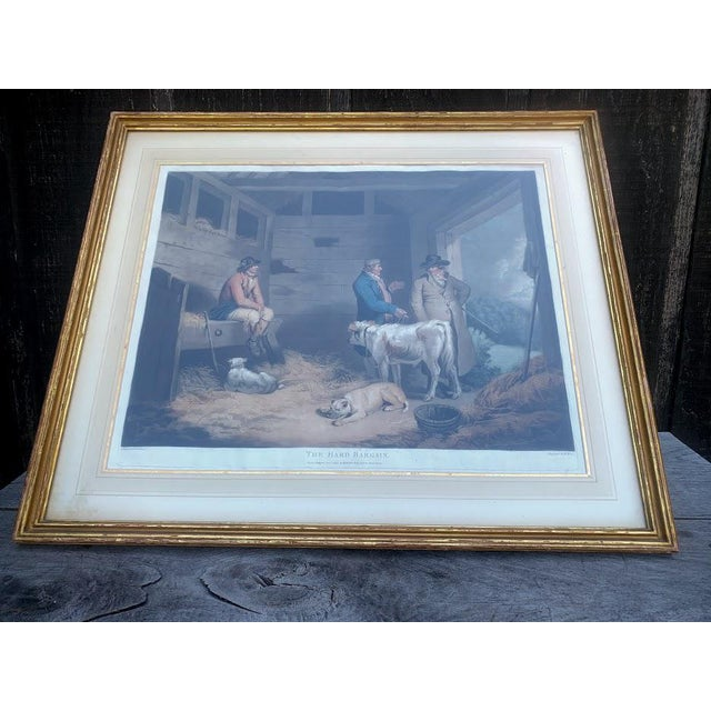 Antique Etching - Hard Bargain by William Ward For Sale - Image 6 of 10