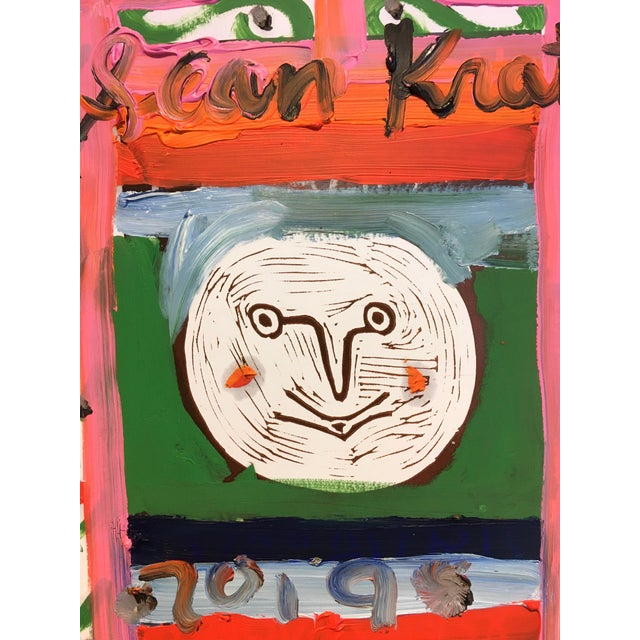 An interesting piece by emerging artist Sean Kratzert. It is inspired by a 1982 work by Jean-Michel Basquiat where he...