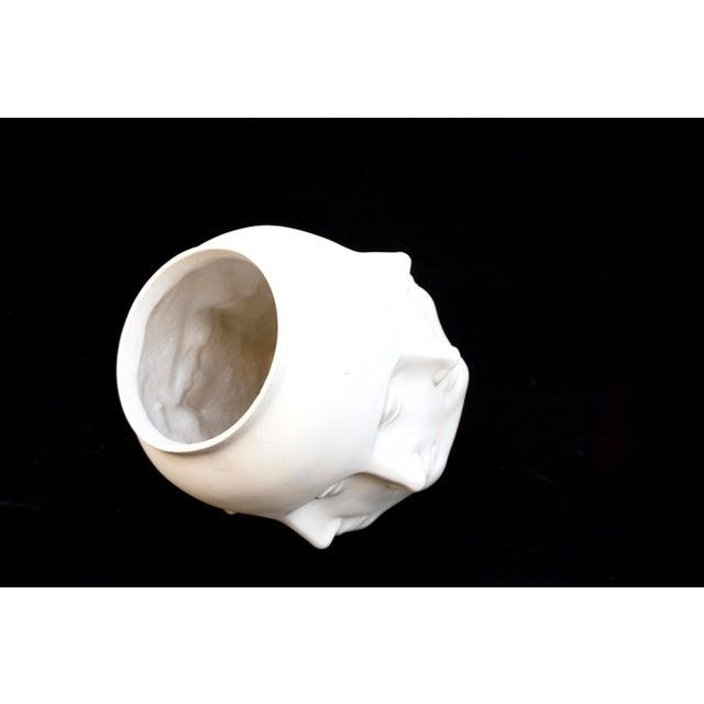 White Original Tms 2005 Vitruvian Fornasetti Style Perpetual Face Vase Dora Maar Head Planter For Sale - Image 8 of 13