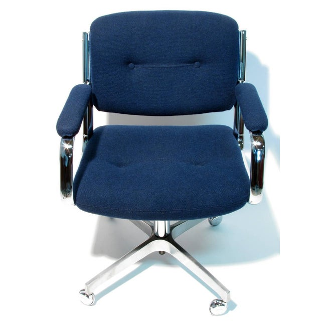 Chromcraft Rolling Swivel Armchairs - A Pair - Image 7 of 9
