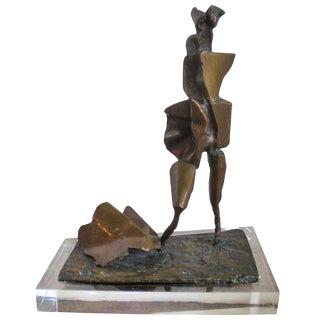 Modernist Bronze Sculpture by Abbott Pattison For Sale