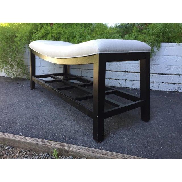 Asian Inspired Saddle Bench - Image 5 of 6
