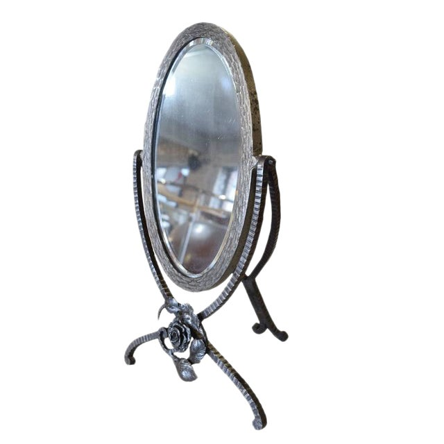 French Fer Forge Vanity Mirror - Image 1 of 5