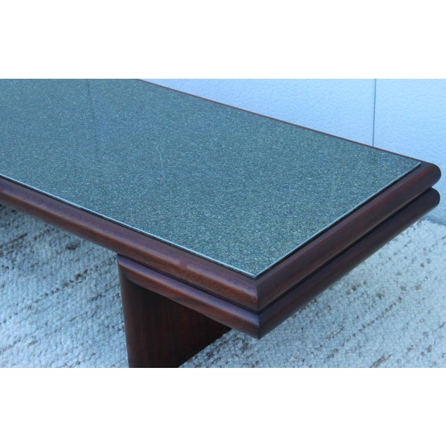 Mid 20th Century Harvey Probber Resin Top Modernist Coffee Table For Sale - Image 5 of 11
