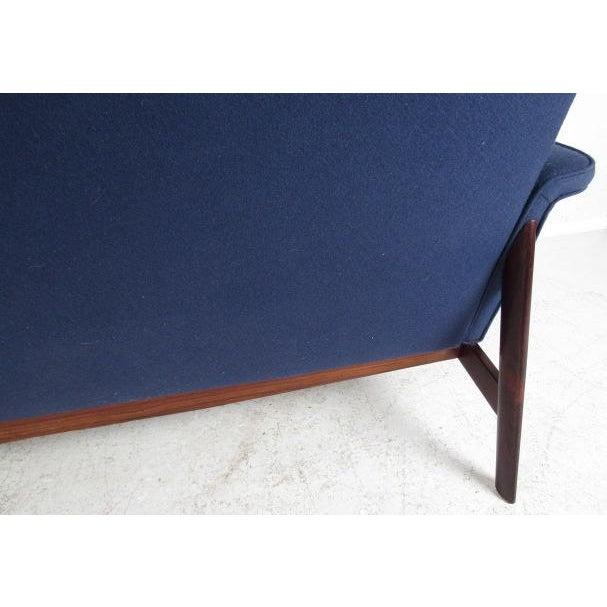 Wood Vintage Danish Sofa by Finn Juhl for France & Son For Sale - Image 7 of 12