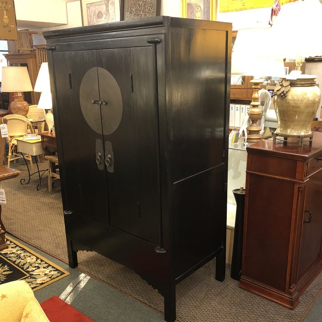 Design Plus Gallery has a Vintage Chinese wedding cabinet. It was tradition that the Brides parents would send these...