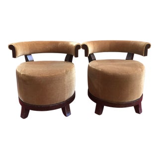 1990s Club Chairs From Dr Room in the Delano Hotel Design by Lenny Kravitz For Sale