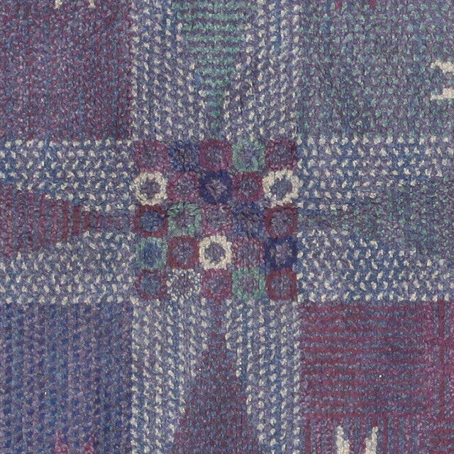 Märta Måås-Fjetterström Vintage Scandinavian Carpet by Marta Maas-Fjetterström - 6′ × 6′ For Sale - Image 4 of 9