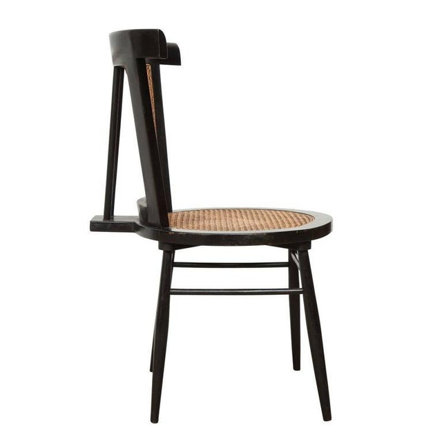 1960s Joaquim Tenreiro Set of Four Small Chairs, circa 1960s For Sale - Image 5 of 7