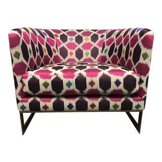 Nathan Anthony Korz Chair by Tina Nicole + Kravet Fabric For Sale