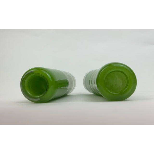 Henry Dean Glass Bud Vases - Set of 4 For Sale - Image 11 of 13