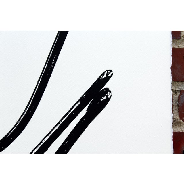 """2010s Kyle Brown """"Circle Hook Trio"""" Screen Print For Sale - Image 5 of 6"""