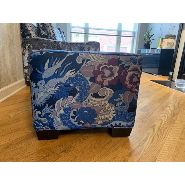 Asian Modern Robert Allen Custom Bench For Sale - Image 3 of 8