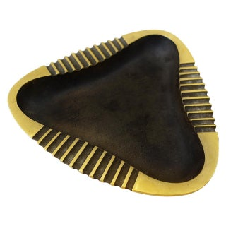 Mid-Century Brass Ashtray by Richard Rohac Preview