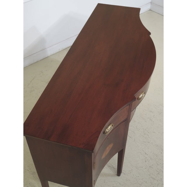 1970s Biggs McFarland Inlaid Mahogany Federal Sideboard For Sale - Image 10 of 13