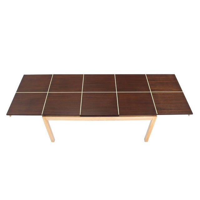 Tommy Parzinger Dining Table with Two Leaves For Sale - Image 9 of 9