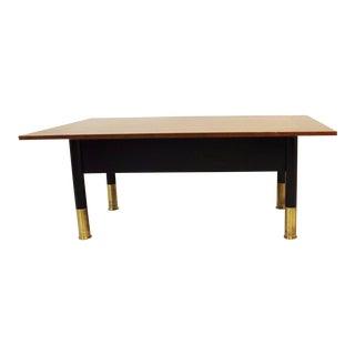 1950s Mid Century Modern LaRosa & Bentley Brickell Coffee Table For Sale