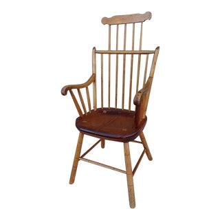 Jack Rennick Windsor High Back Chair For Sale