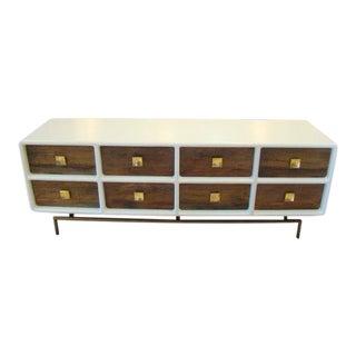 Mid Century Modern Modular Dresser/Entertainment Console For Sale
