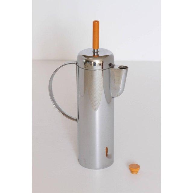 Machine Age Art Deco Empire Cocktail Shaker, William Archibald Welden for Revere For Sale In Dallas - Image 6 of 11