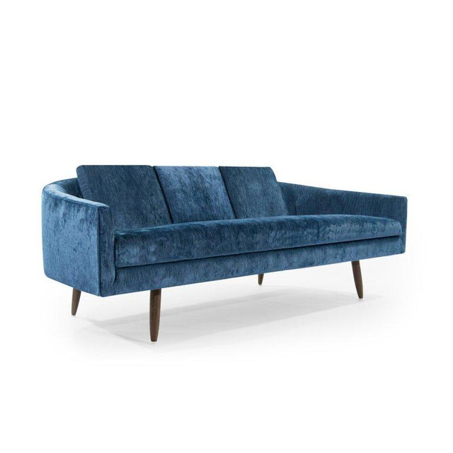 Blue Adrian Pearsall for Craft Associates Cloud Sofa For Sale - Image 8 of 12