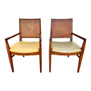 1950s Vintage John Stuart Arm Chairs - a Pair For Sale