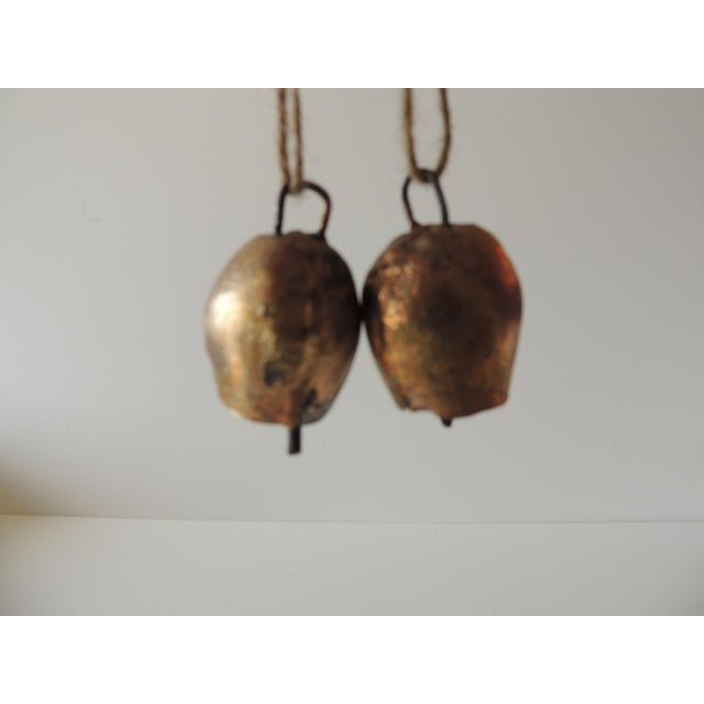 Indian Pair of Gold Leaf Iron Indian Holiday Christmas Tree Ornaments For Sale - Image 3 of 5