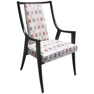 Harvey Probber Saber Leg Armchair For Sale