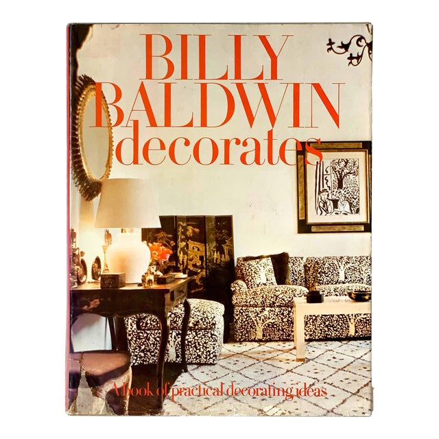 Vintage 1972 Billy Baldwin Decorates Book For Sale