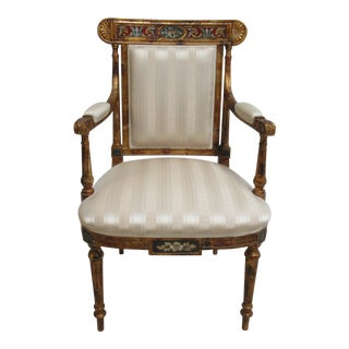 Decorative Crafts Adam Paint Decorated Chair For Sale