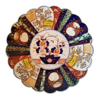 Antique Late 19th Century Imari Porcelain Plate For Sale