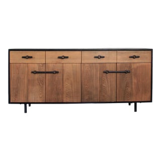 Industrial Franklin Credenza/Sideboard For Sale