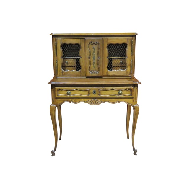 19th C. Country French Writing Desk For Sale - Image 13 of 13