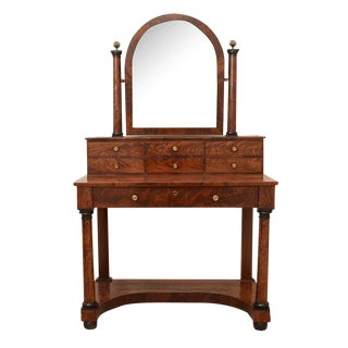 French Antique Empire to Biedermeier Transitional Dressing Table C. 1820 For Sale