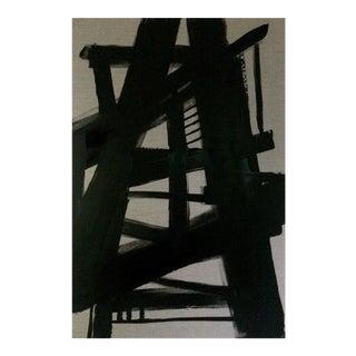 'TRESTLES' original abstract painting by Linnea Heide
