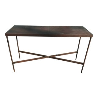 Metal X Base Sofa/Hall Table