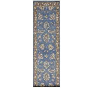 Boho Chic Brook Wool Rug - 2′7″ × 12′4″ For Sale