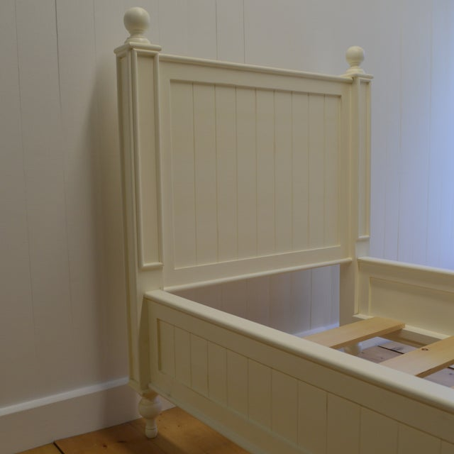 Farmhouse Style Beadboard Bed - Image 4 of 5